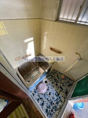 【浴室】東石切町3丁目貸家