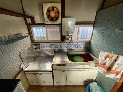 【キッチン】東石切町3丁目貸家