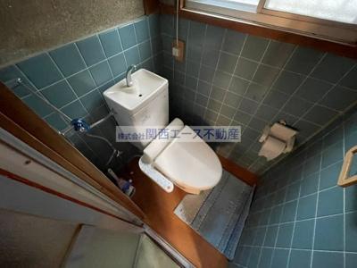 【トイレ】東石切町3丁目貸家