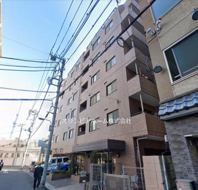 【外観】ドムール浅草II 2001年築 角 部屋 リ ノベーション済