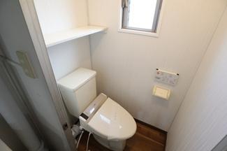 高洲二丁目住宅 スタンダードなトイレになります。