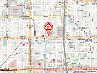 【地図】ベストプラザ