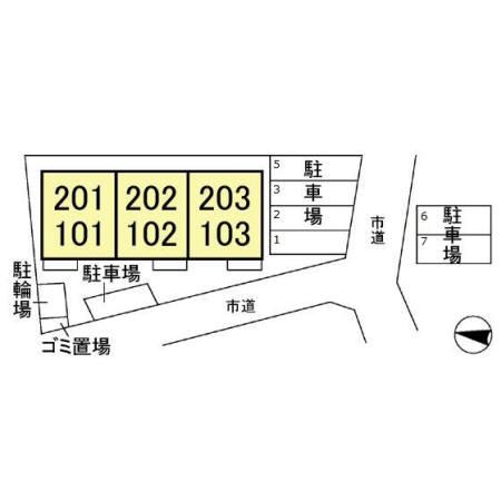 【区画図】ローズコート・M