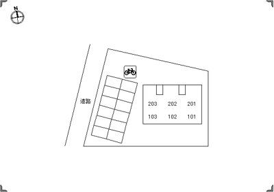 【区画図】ウィルモア古屋