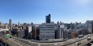 【物件からの展望】周りには高い建物がなく、大阪の景色を心ゆくまでお楽しみ頂けます。