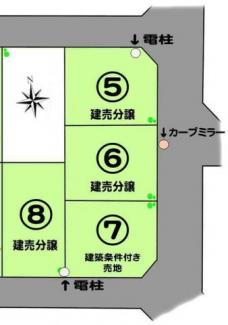 【区画図】【売主】MLH TSUJIDO 大庭8号棟(仲介手数料不要)
