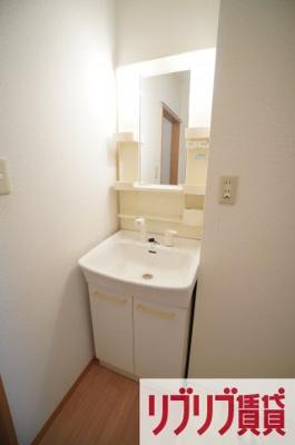 【洗面所】フレンドハウス23 B
