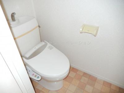 【トイレ】ウエルヴィラB棟