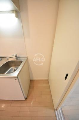 天満アパートメント 冷蔵庫スペース