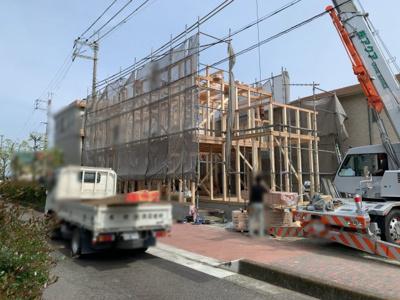 【外観】大津市唐崎3丁目22 新築分譲