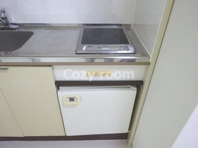 ミニ冷蔵庫付き(現況と異なる場合は、現況を優先)