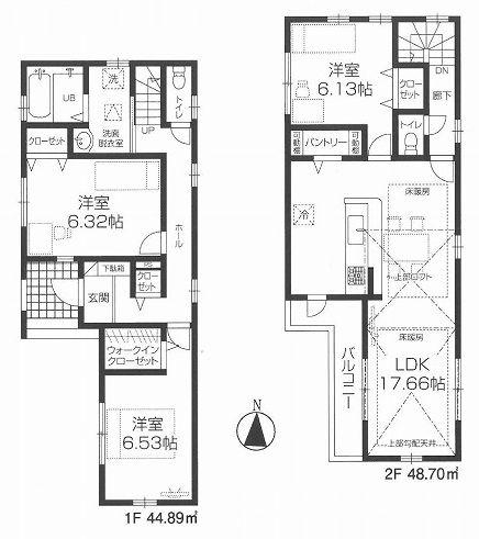 板橋区徳丸6丁目 新築戸建