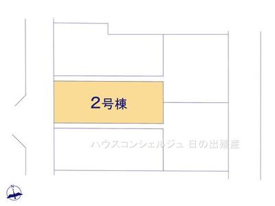 【区画図】名古屋市港区東茶屋1丁目582【仲介手数料無料】新築一戸建て