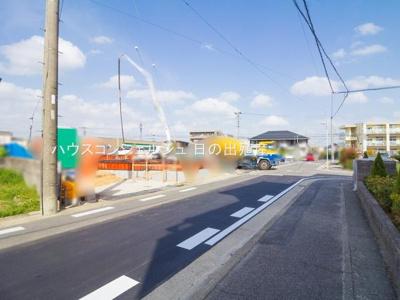 【前面道路含む現地写真】名古屋市天白区海老山町608-1【仲介手数料無料】新築一戸建て