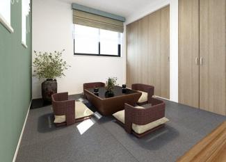 ジブンハウス仕様 内観 建物プラン 建物面積115.09㎡ 建物価格1640万円