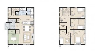 ジブンハウス仕様 間取り 建物プラン 建物面積115.09㎡ 建物価格1640万円