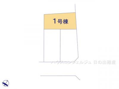 【区画図】名古屋市南区鳴尾1丁目102【仲介手数料無料】新築一戸建て
