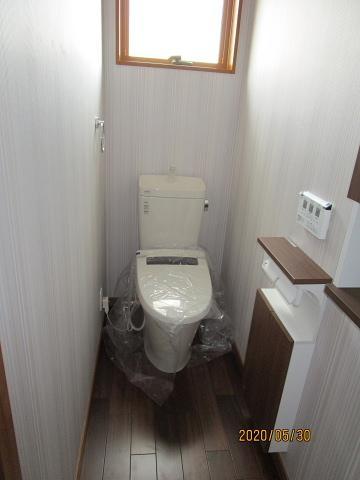 【トイレ】神戸市垂水区西舞子8丁目 B号棟 新築戸建
