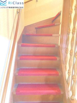オシャレな階段です