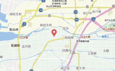 【地図】グリーンコート A