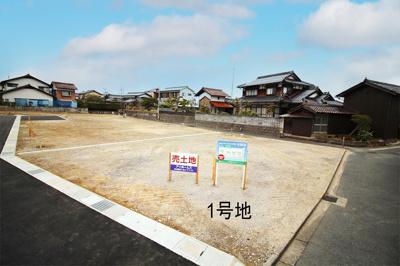 【外観】鳥取市的場土地①号地