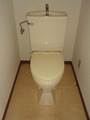 【トイレ】ハイツヒラオカ