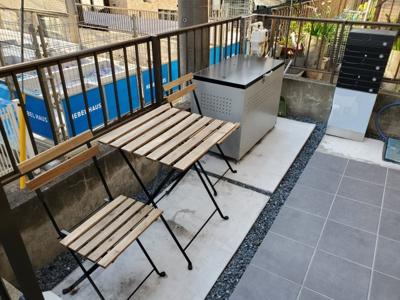 【エントランス】新宿区新宿7丁目テラスハウス【仲介手数料半額】