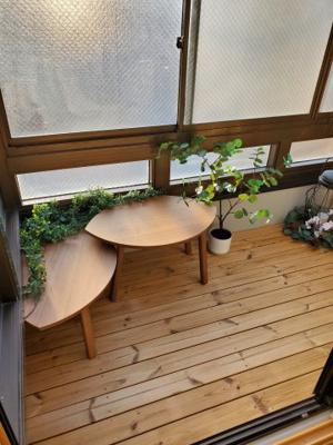 【バルコニー】新宿区新宿7丁目テラスハウス【仲介手数料半額】