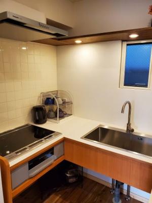 【キッチン】新宿区新宿7丁目テラスハウス【仲介手数料半額】