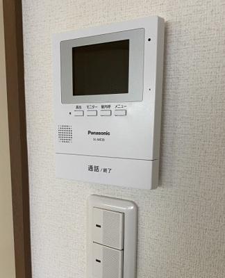 TVモンター付ドアホン