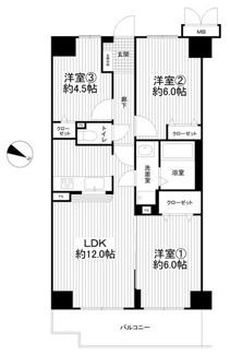 3LDK 6階部分