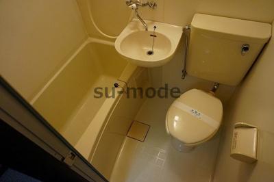 【浴室】ハイツオーキタ八丁畷