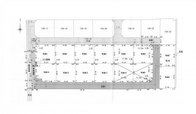 【区画図】北区梶尾町 3号地