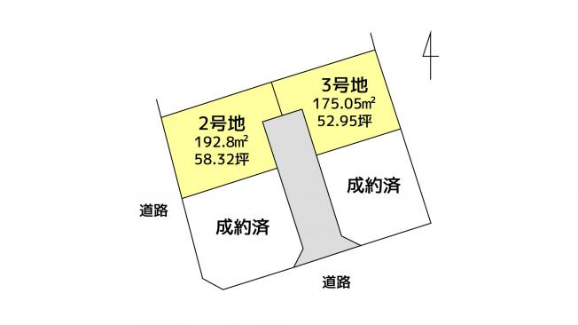 【土地図】大牟田市鳥塚 2号地