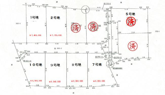 【土地図】八代市上日置町 9号地