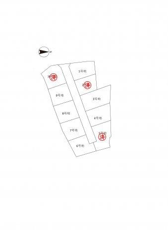 【土地図】山鹿市方保田Ⅱ 9号地