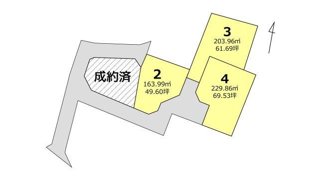 【区画図】植木町一木 2号地