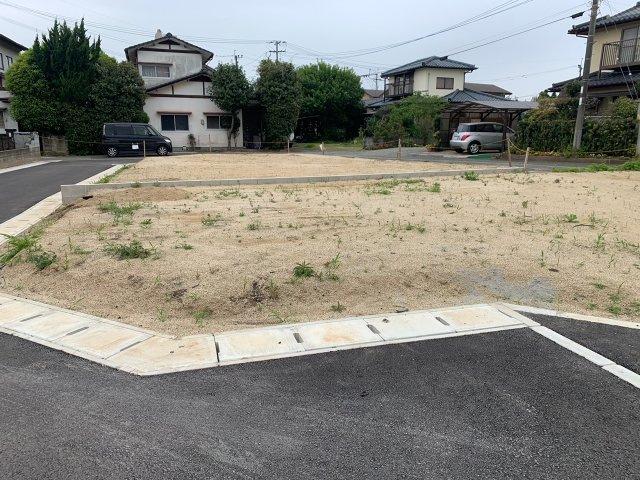 【前面道路含む現地写真】植木町一木 3号地