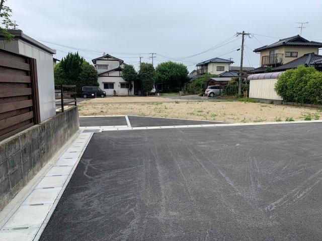 【前面道路含む現地写真】植木町一木 4号地