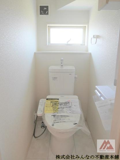 【トイレ】久留米市三瀦町 第4 オール電化 一建設株式会社