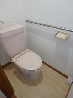 【トイレ】新曽南戸建1