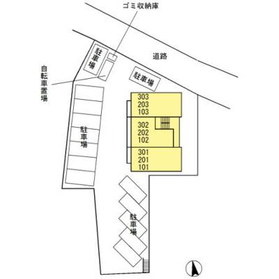 【区画図】サンラモン覚王山