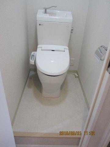 【トイレ】カーサ第三宇喜田5号棟