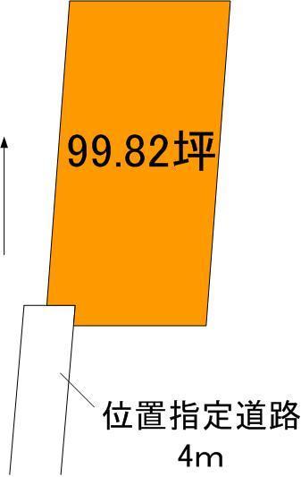 【土地図】姫子2丁目土地