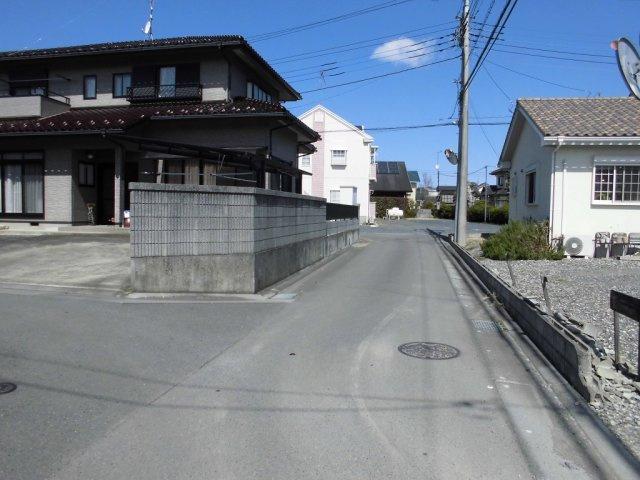 【前面道路含む現地写真】大塚町土地