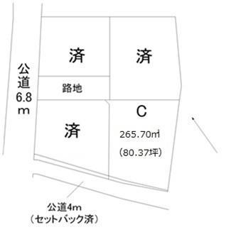 【土地図】金町3丁目土地