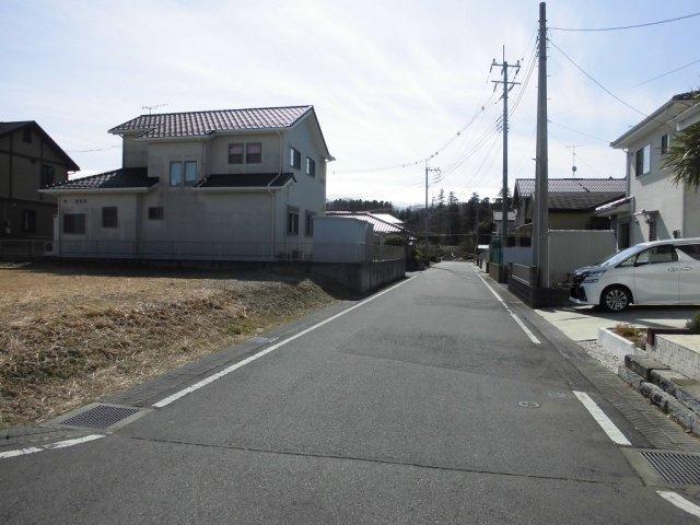【前面道路含む現地写真】東前町土地【街区67-1,67-2】