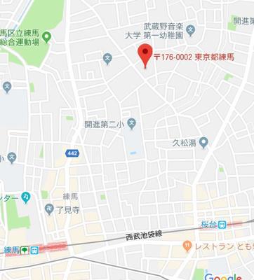 【地図】カーサ・プリマベーラ