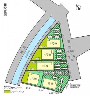 【区画図】三島市徳倉第4 新築戸建 全5棟 (3号棟)