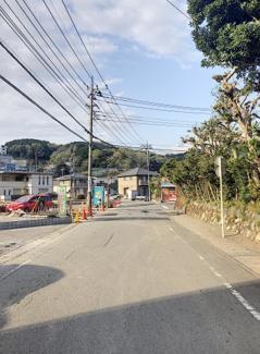 【前面道路含む現地写真】三島市徳倉第4 新築戸建 全5棟 (3号棟)